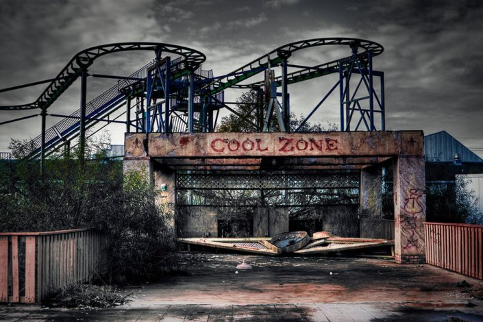 7. Six Flags Jazzland – Nova Orleans, Louisiana, EUA