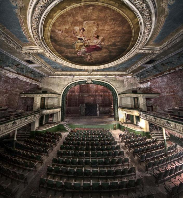 Auditório Orpheum – New Bedford, Massachusetts, EUA