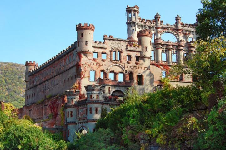 Castelo Bannerman  – Ilha Pollepel, Nova York, EUA