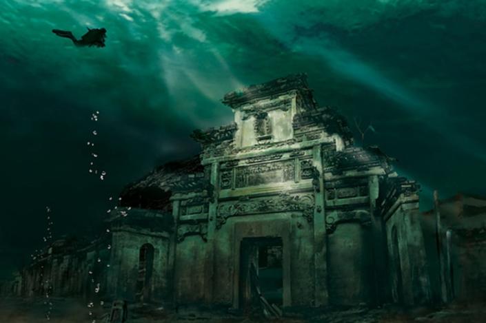 Cidade submersa – Shicheng, China