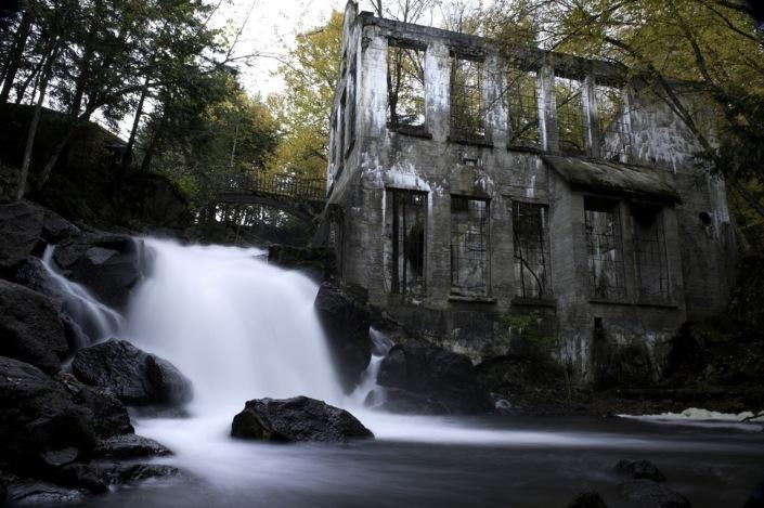 Moinho abandonado – Ontário, Canadá