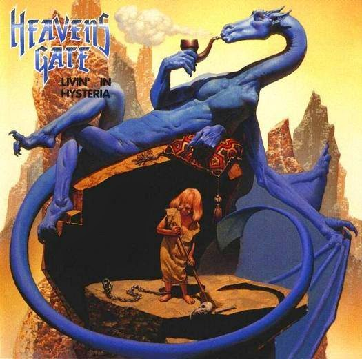 RICHARD CORBEN livin in histeria heavens gate